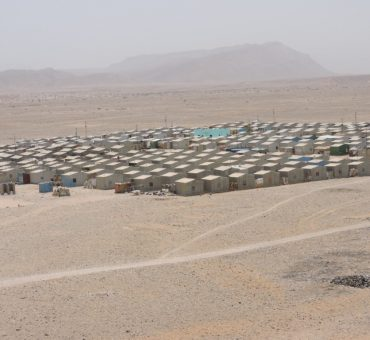 An IDP camp in Bosaso — Puntland State of Somalia